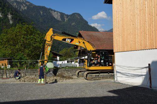 Die Sanierungsarbeiten an der Ortsdurchfahrt Brunnenfeld konnen vor Kurzem abgeschlossen werden. Stadt
