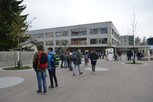 Die Schule Schendlingen wurde nicht nur für das architektonische, sondern auch für das zukunftsorientierte Schulkonzept ausgezeichnet.A. Serra