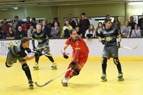 Die Spieler des RHC Dornbirn stoßen auf schwere Gegner in der Westschweiz.RHC