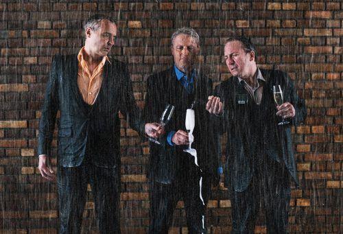 """Die """"Staatskünstler"""" Florian Scheuba, Thomas Maurer und Robert Palfrader gastieren im Spielboden. Spielboden"""