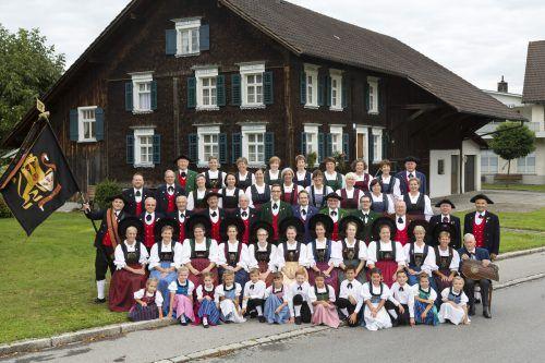 Die Trachtengruppe Lustenau wurde 1950 gegründet. Die große Jubiläumsfeier zum 70er steigt aber erst nächstes Jahr.  TG