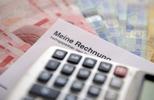 Die Vorarlberger lassen Rechnungen nicht liegen und zahlen am pünktlichsten. apa