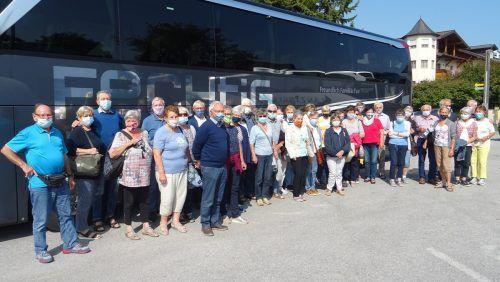 Die Wolfurter Senioren erlebten schöne Tage in Burgenland.sb wolfurt