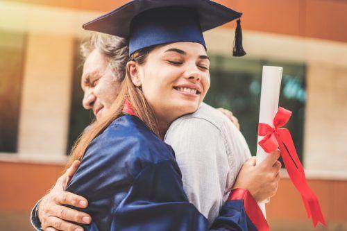 Die Zahl der Hochschulabsolventen wuchs auf das Fünffache an. Shutterstock