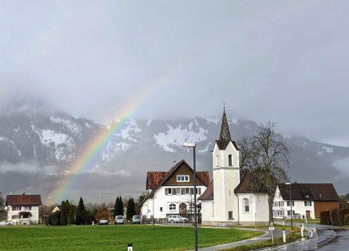 Dieses Foto von der Kapelle in Bangs gelang VN-Leser Elmar Scherrer.
