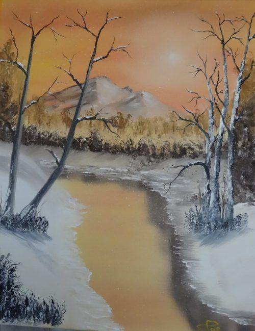 Dieses und weitere Gemälde können bis 10. Dezember online ersteigert werden.Passenegg