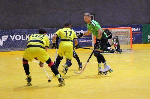 Dornbirns Rollhockey-Cracks wollen am Samstag unbedingt punkten.RHC