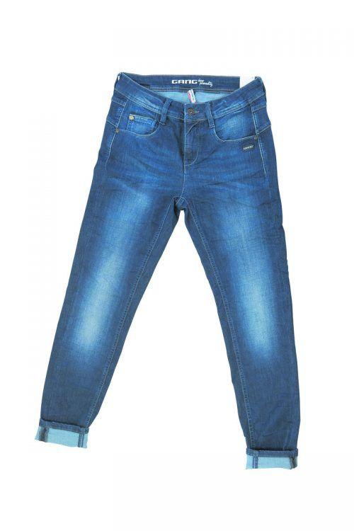 Dunkle Boyfriend-Jeans von Gang, gesehen bei Facona um 119,90 €.