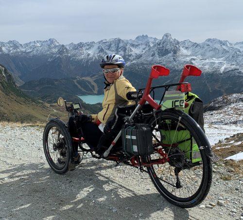 Edith Burtscher-Münsch liebt es in den Bergen unterwegs zu sein.