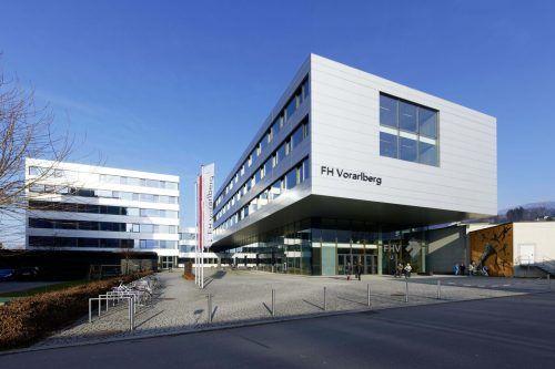 Der Tag der offenen Tür an der FH Vorarlberg findet heuer virtuell statt.VN