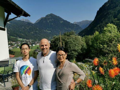 Familie Heim fühlt sich in St. Gallenkirch sehr wohl.VN/KUM