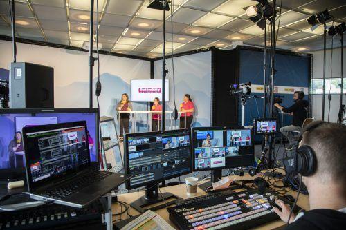 digitale Lehrlingsmesse im im Studio Multimediaraum,