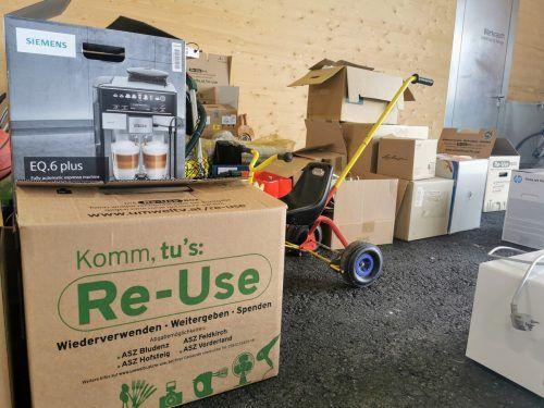 Am 28. Mai können im ASZ gebrauchte, funktionstüchtige Elektrogeräte und Haushaltsgegenstände abgegeben werden. Umweltverband