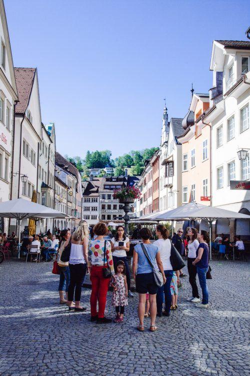 """""""Freitag um Fünf"""" führt am 16. Oktober durch die Marktgasse. Stadtmarketing"""