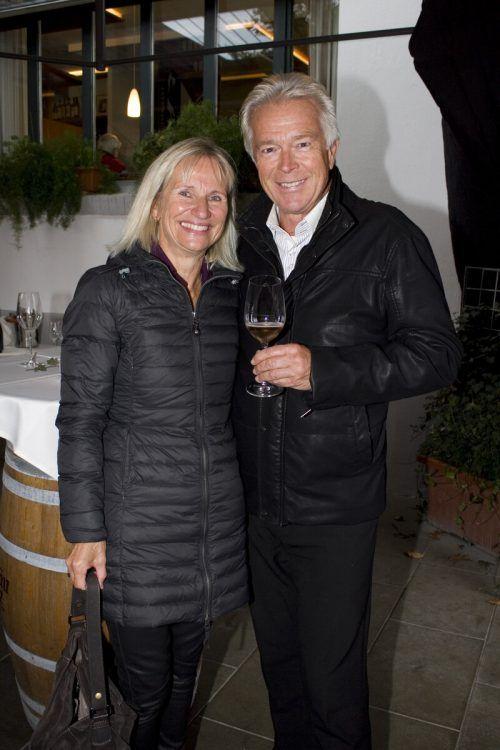 Gäste-Duo: Sabine Smodics und Walter Geisselmann.