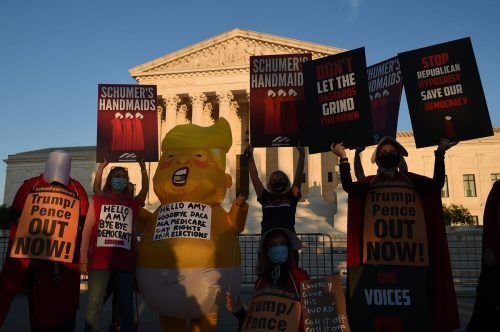 Gegen die Nominierte regt sich vor allem Protest.
