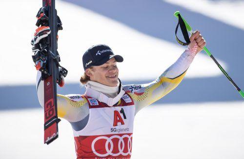 Gerade die Teamkultur bei den Norwegern ist für Lucas Braathen ein Erfolgsfaktor.gepa