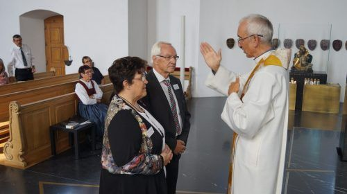 Goldenes Ehejubiläum feierten Rosalinde und Elmar Dür. nam