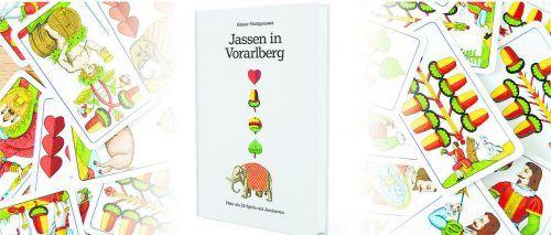 Günter Wohlgenannt hat alles Wichtige rund ums Jassen in seinem Buch zusammengetragen – erhältlich im VN-Shop.vn