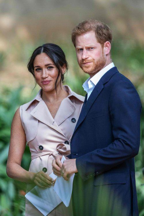 Harry und Meghan leben nun als Privatmenschen in Südkalifornien. AFP