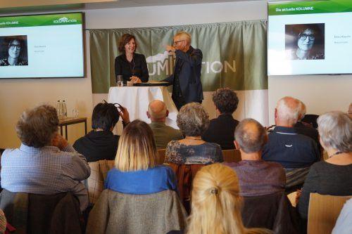 Im letzten Jahr nahm auch VN-Kolumnistin Doris Knecht teil. Sorko