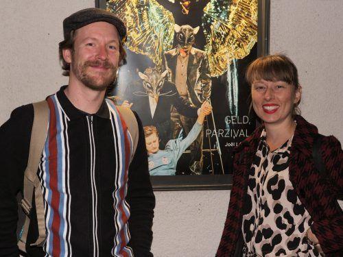 Im Publikum: Schauspieler Tobias Graupner und Pascale Pfeut.