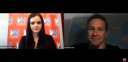 Im VN-Interview via Zoom spricht Gerald Knaus über seine Vorschläge für eine humane Asylpolitik.