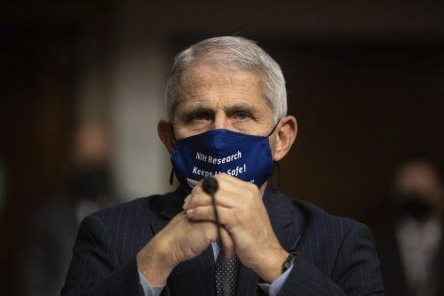 Immunologe Fauci ist Teil der Corona-Arbeitsgruppe des Weißen Hauses. AP
