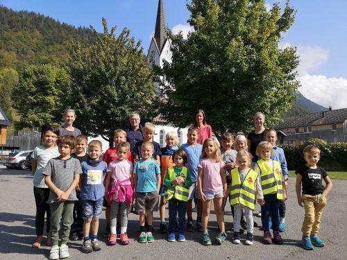 In der Gemeinde Bizau werden die Kinder der Volksschule und des Kindergartens betreut.mam/2