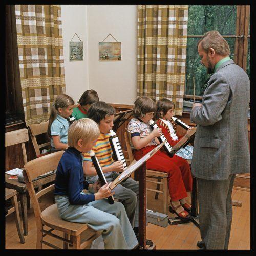 In der Musikschule wurde fleißg musiziert.