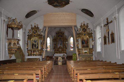 In einem nächsten Schritt soll der Innenraum der Kirche saniert werden.dob