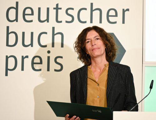 In ihrer Dankesrede erinnerte Weber an die reale Anne Beaumanoir.afp
