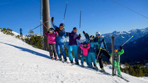 In neun Skigebieten im Land kostet heuer der Pistenspaß für Erwachsene weniger als 25 Euro. VN/Lerch