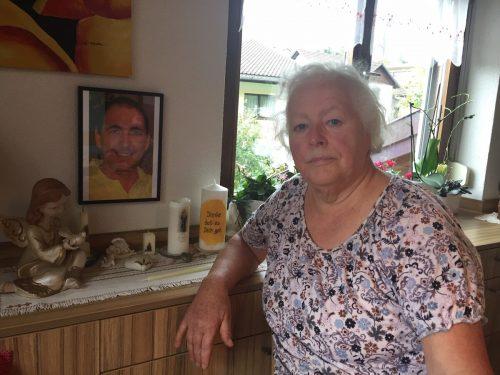 Irmgard verlor vor zwei Jahren ihren Sohn Markus. Aber in ihrem Herzen wird er für immer weiterleben.