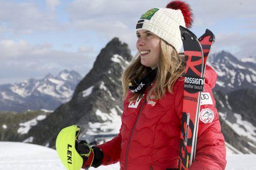 Katharina Liensberger ist im ÖSV-DamenTechnikteam eine fixe Größe.gepa