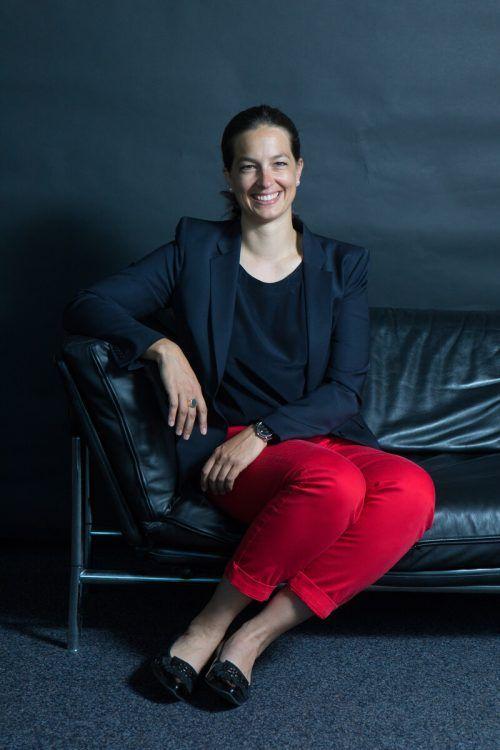 Katharina Rhomberg-Shebl nimmt im JI-Vorstand Österreichs Platz.VN/kh