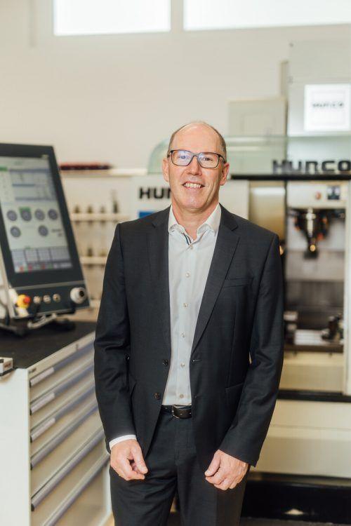 Stephan Battlogg ist der KMU-Unternehmer des Jahres 2020.VN/sams