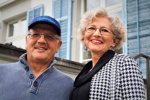 Künstler Martin Scheiber und Gabriela Blum.