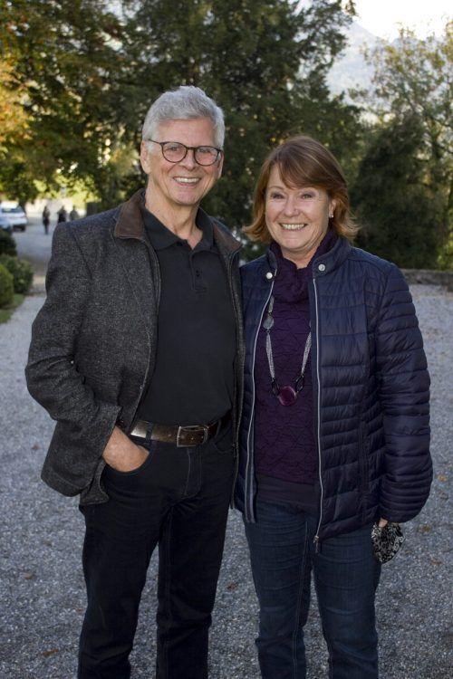 Künstler Stefan Kresser und Cornelia waren begeistert.