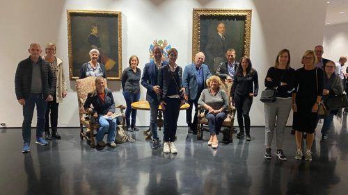 Kunst-, Kultur sowie Natur- und Tiererlebnis erlebten die Gildenball-Gewinner mit Bürgermeister Dieter Egger.bregenzer faschingsgesellschaft