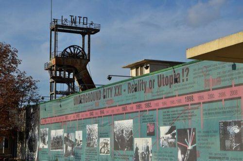 Labin, wo sich die Biennale-Zentrale befindet, ist ehemaliger Bergarbeiterort.