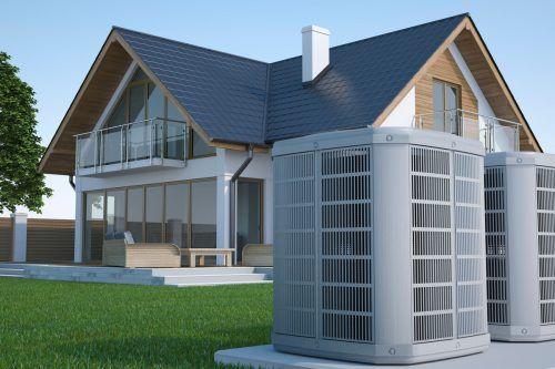 Laut einer aktuellen Studie werden Wärmepumpen in Zukunft eine größere Rolle spielen. Shutterstock