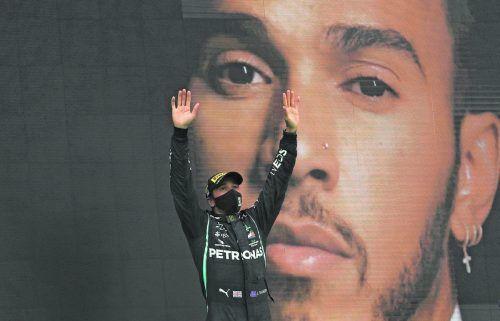Lewis Hamilton hat sich in der Formel 1 längst verewigt. Der Rekordsieger der Königsklasse befasst sich jetzt mit dem Karriereende.ap