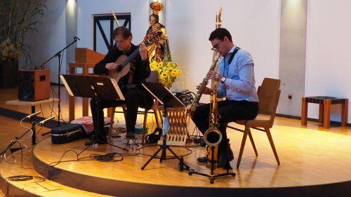 Magnus Panek und Fabio Devigili nahmen mit auf eine Reise durch verschiedenste Musikstile. Egle