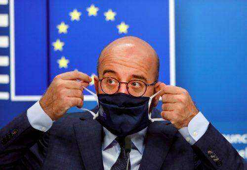 """Man nehme die Lage """"sehr ernst"""" , so Ratspräsident Michel.reuters"""