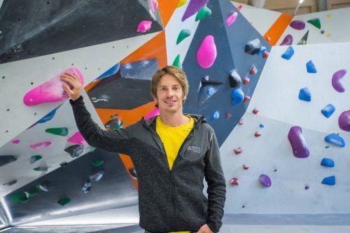 Mark Amann versucht, den Nachwuchs in den Spitzensport zu führen.VN/Steurer