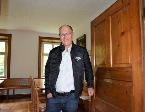 Martin Ruepp freut sich über die neu gewonnene Zeit.ERH
