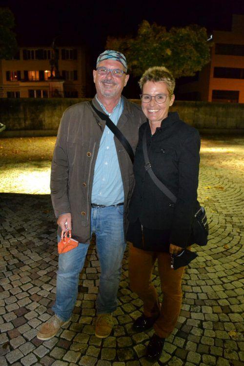 Martin Winkel und Brigitte waren ebenso zum Konzert gekommen.