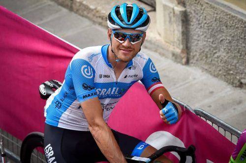 Matthias Brändle vom Israel-Team genoss den Ruhetag trotz aller Testungen.Privat