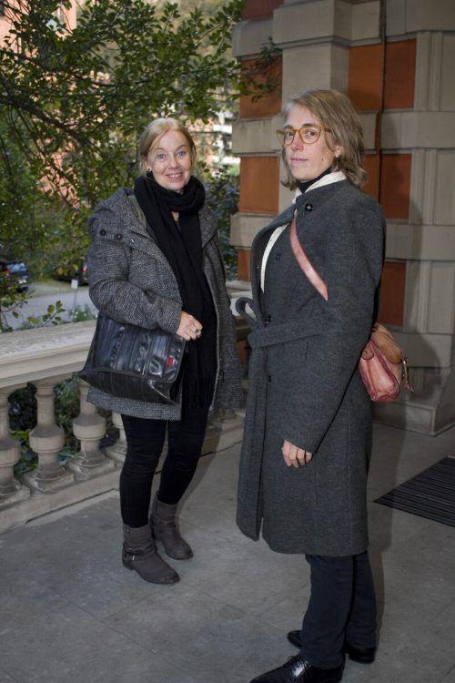 May-Britt Nyberg-Chromy (l.) und Dorothea Rosenstock.